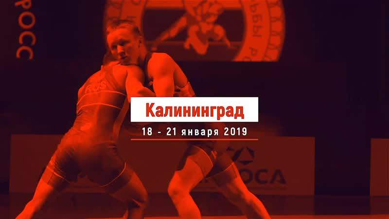 Чемпионат России по греко-римской борьбе 2019