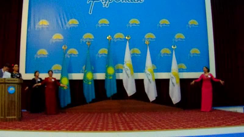 Конститутция - адам құқықтарын қамтамасыз етудің кепілі атты халықаралық олимпиадаға қатысқан командарлардың сәлемдесуі.