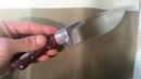 Обзор ножа Hunt Skin Х12МФ - магазин ножей