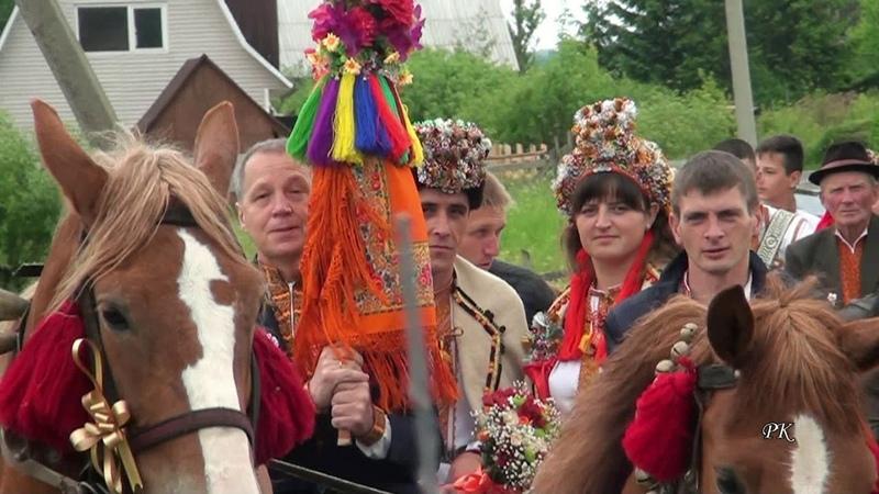 Гуцульське весілля. Їдуть до у шлюбу ( с. Космач ) - Hutsul Wedding
