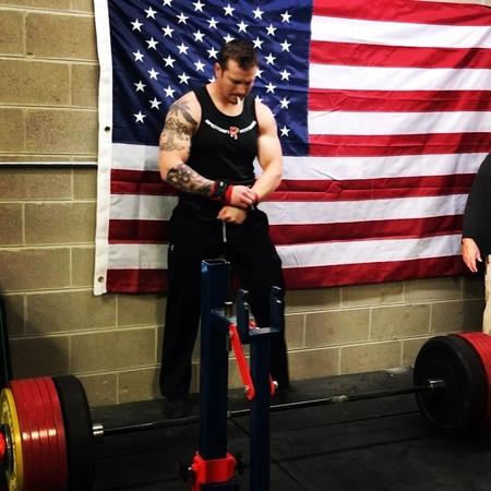 "John Haack on Instagram: ""347.5kgs/766lbs for an early morning single on deadlift. A7 hybridperformancemethod mbslingshot powerlifting powerli..."