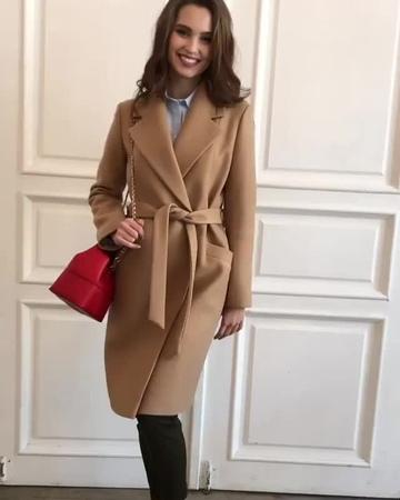 Стильное пальто для вашей осени