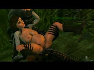 vk.com/watchgirls Rule34 Bioshock Alien Elizabeth 3D porn pregnant monster  sound