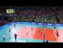 15.09.2018. 17:55 - Волейбол. Чемпионат мира. Мужчины. 3 тур. Группа А . Бельгия - Словения