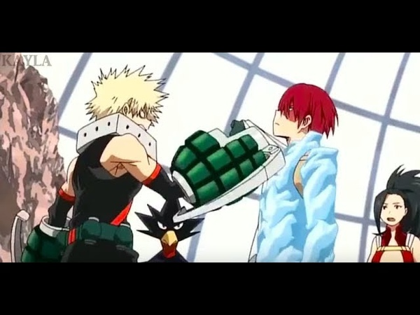 Todoroki and bakugou annoying eachother for 60 seconds