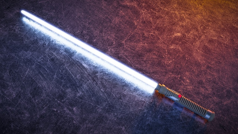 CGC Classic Compositing Light Saber Glow in Blender