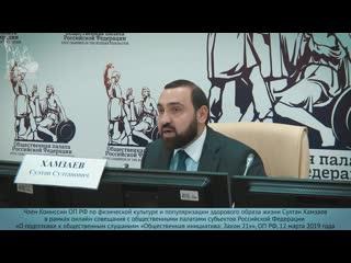 Султан Хамзаев о повышении возраста продажи алкоголя