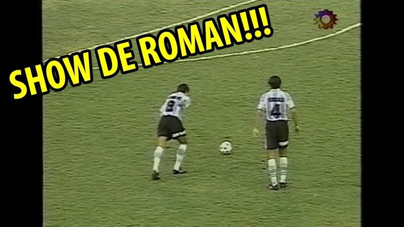 Roman Riquelme aplasta a Inglaterra con 18 años (Mundial Juvenil 1997)