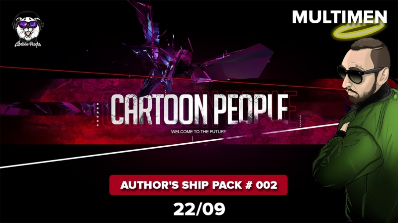 20:00 | MULTIMEN AUTHOR'S SHIP PACK 002