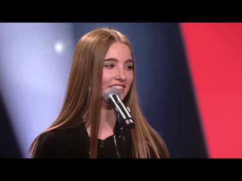 Шоу Голос Kids Бельгия (Фландрия) 2018. - Яде с песней Тоска. — The Voice Kids Flanders (Belgium) 2018. - Jade – Homesick (оригинал Дуа Липа Dua Lipa) VTM