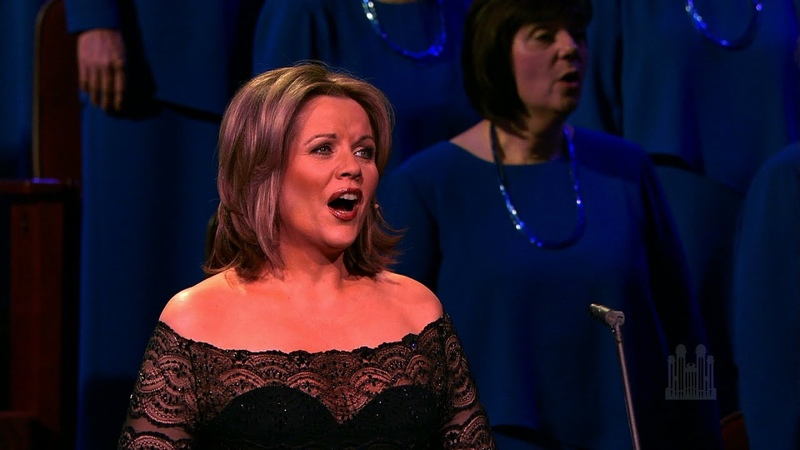 Lo How a Rose E'er Blooming Renée Fleming and the Mormon Tabernacle Choir