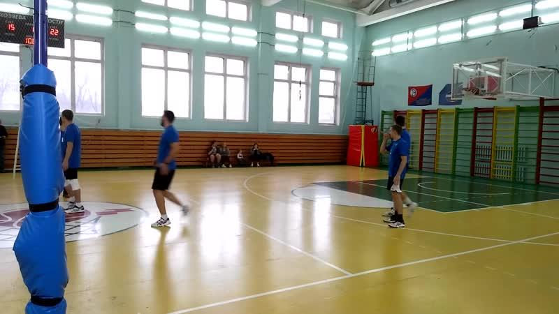 Волейбол. КНИРТИ (Жуков) - Сборная работников РЭП (Калуга)