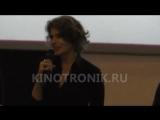 Фанни Ардан Fanny Ardant - На премьере фильма Мария до Каллас