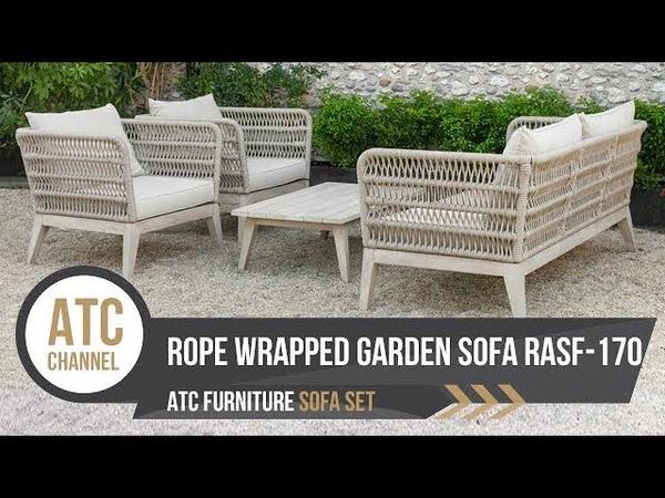 Rope Wrapped Outdoor Sofa Set RASF 170 ATC Furniture 2019
