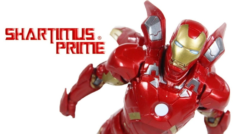 Marvel Legends Mark 7 Iron Man Avengers Movie Marvel Studio The First 10 Years Figure Toy Review