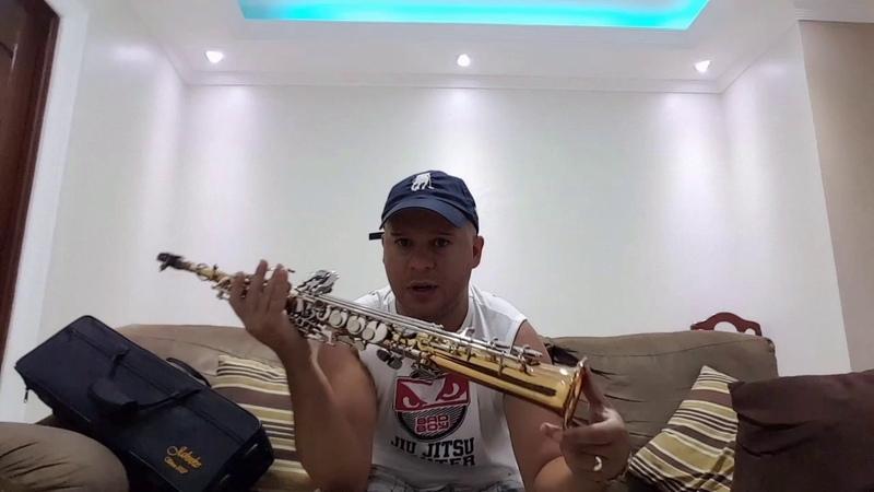 Demonstração do saxofone soprano jahnke som natural sem efeito.
