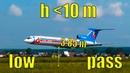 Ту-154 и Ил-86 на авиашоу. Проход на предельно малой высоте
