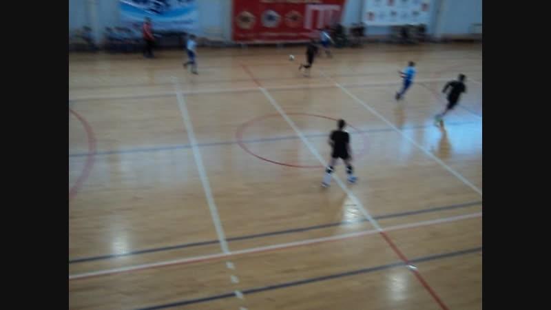 Чемпионат Ковровского района по мини футболу юноши 2009 - 2010 ФК ЗиД 1- Селикат 1 тайм 2.12.18