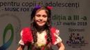 Yilmaz Feyzana 8 ani Chisinau TARISOARA MEA