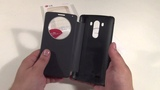 Оригинальный чехол для LG G3 D855 QuickCircle Black обзор