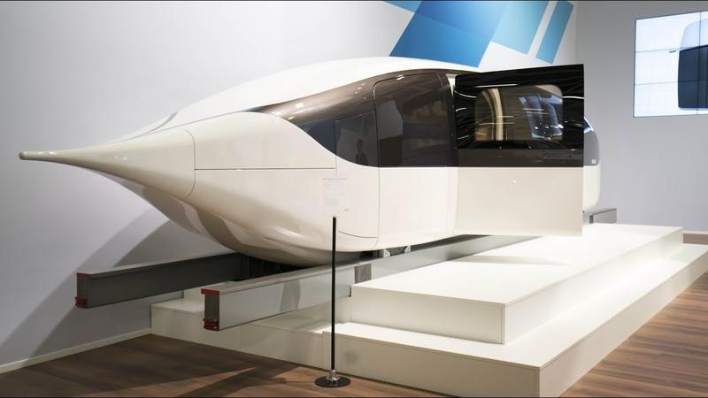 SkyWay high speed unibus presentation. Высокоскоростной Юнибус 500 кмчас