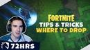 TL Fortnite 72HRS Tips and Tricks Где приземлиться
