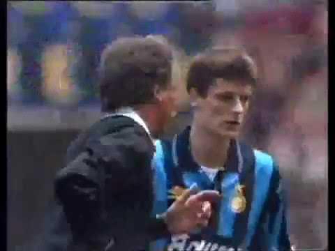 07.11.1993 Чемпионат Италии 11 тур Интер (Милан) - Милан 2:3