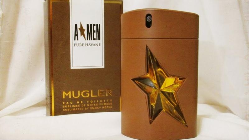 Парфюмерная посылка    Mugler - A*Men PURE HAVANE