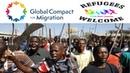 Der Migrationspakt bringt keine Lösung - aber Hauptsache schön bunt.
