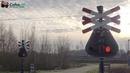 Spoorwegovergang Aki, Breda (NB) 😍4K😍 Dutch Railroad crossing