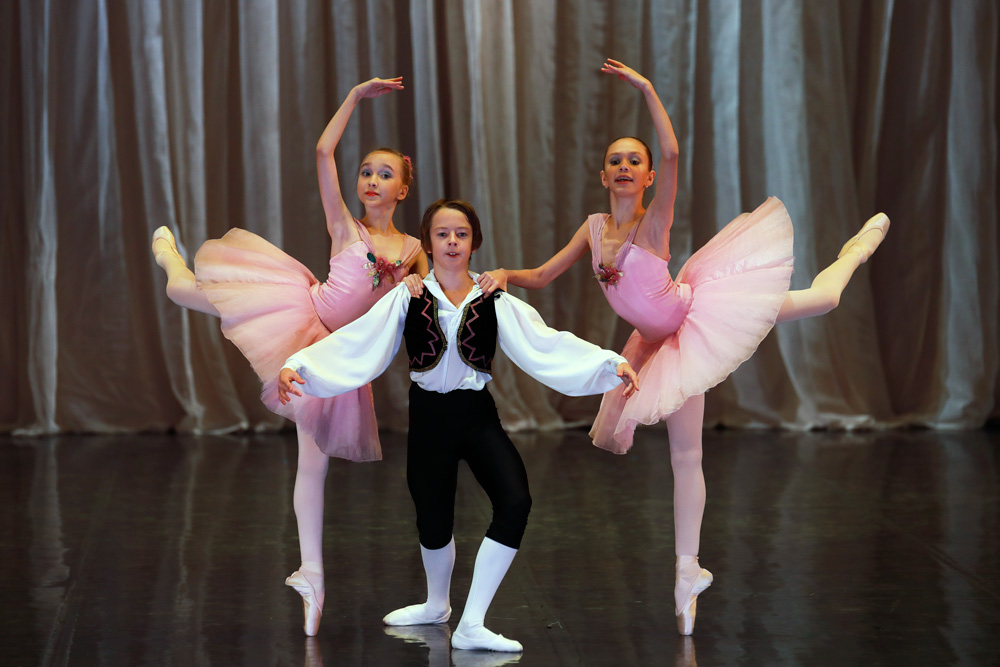 Па де тру из балета Щелкунчик