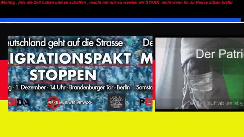 Tim Kellner Demo 1 12 18 Migrationspakt alle dort hin