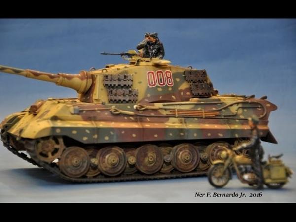 King Tiger Ardennes Tamiya 1 35 OOTB Build