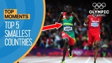 Top 5 Smallest Countries to Win Gold at the Olympics Top Moments