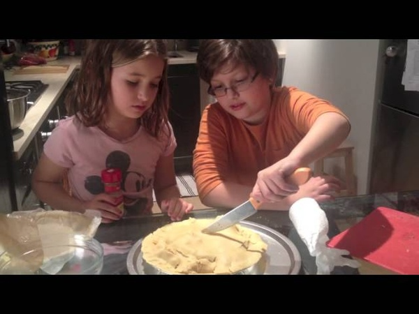 How to Make an Apple Pie - Easy Recipe - Presented by Evie Dolan Theo Dolan