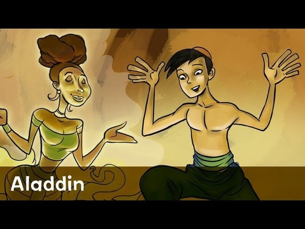 Fairy Tale Aladdin read by John Krasinski from Speakaboos