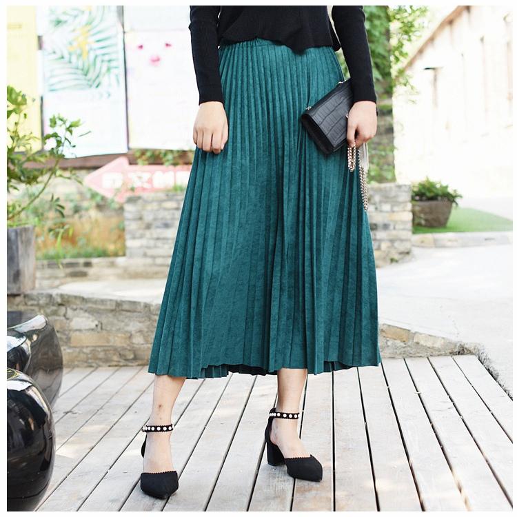 Плиссерованная юбка -