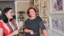 Как организовать галерею картин дома? /совет от мастерицы лентами Марины Брановицкой Часть 2.