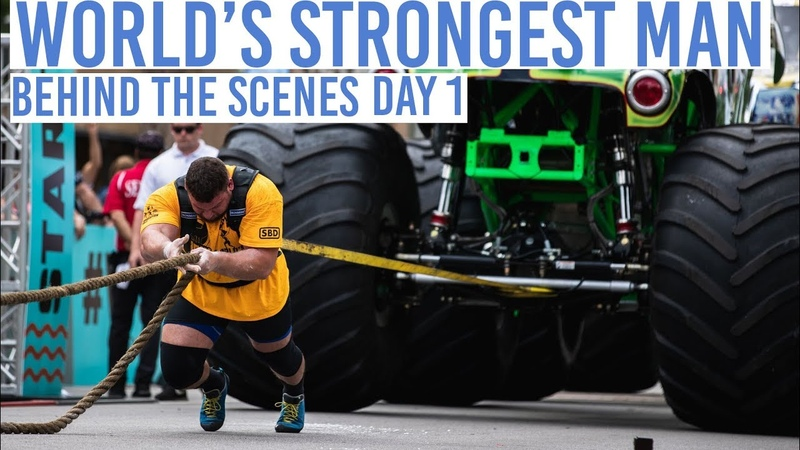 Worlds Strongest Man Day 1 Behind the Scenes