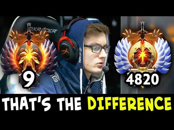 Difference between TOP-10 and RANK-4800 on mid — MIRACLE Invoker Battle Cup