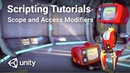 C Scope and Access Modifiers in Unity! - Beginner Scripting Tutorial