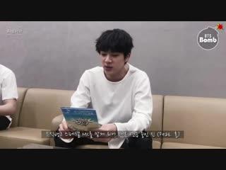 [BANGTAN BOMB] BTS won the 1st & Special MC Jin @MUSICBANK