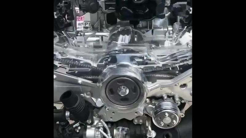 2L 4 Cylinder Boxer engine