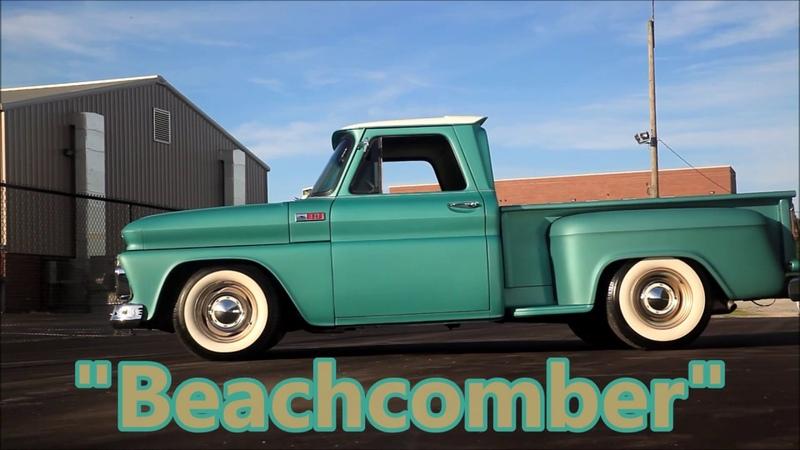 Beachcomber 1965 Chevrolet C10 LSX LS Swap, Vintage Air, 4 Wheel Disc, ALL NEW FRAME OFF!