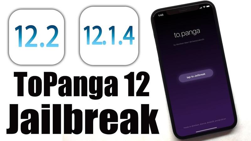 JB iOS 12.2 - 12.1.4 - 12.1.3 Support! How to use iOS 12 Jailbreak - ToPanga 12