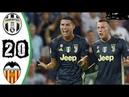 Valencia vs Juventus 0-2 All Goals & Highlights 2018