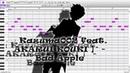 【 Kazuma002 Feat. AKARUI KOUKI 】 - Bad Apple 【 UTAU Cover】