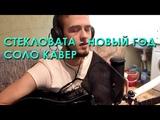 Стекловата - новый год (Solo guitar+vocal cover by me)