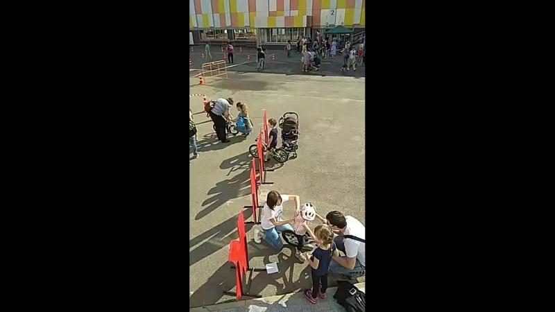Беговелогонка на фестивале