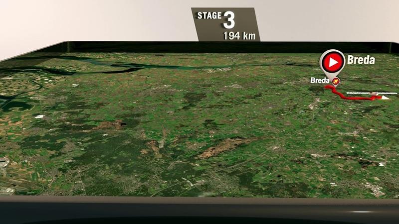 La Vuelta 20 | Recorrido etapa 3 | Breda - Breda